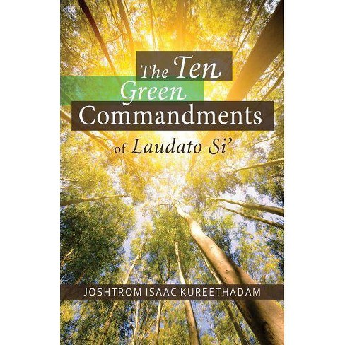 Cover of The Ten Green Commandments of Laudato Si'